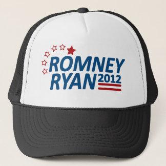Mitt Romney Paul Ryan 2012 Stars Trucker Hat