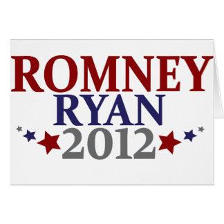 Mitt Romney Paul Ryan 2012 Tarjeta De Felicitación