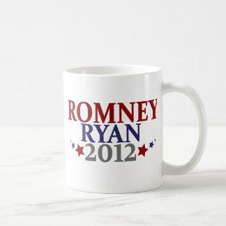 Mitt Romney Paul Ryan 2012 Taza Básica Blanca
