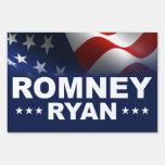 Mitt Romney Paul Ryan 2012 Yard Sign