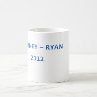 MITT ROMNEY PAUL RYAN CAMPAIGN WEAR COFFEE MUG