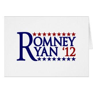 Mitt Romney Paul Ryan Card