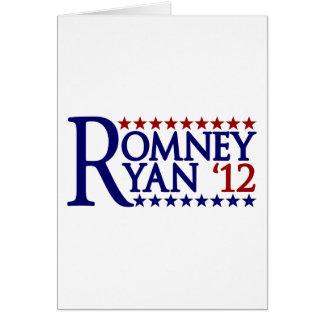 Mitt Romney Paul Ryan Greeting Card