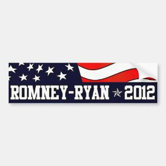 Mitt Romney Paul Ryan en 2012 Etiqueta De Parachoque