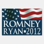 Mitt Romney Paul Ryan en 2012 Letreros
