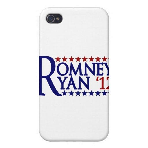 Mitt Romney Paul Ryan iPhone 4 Carcasa