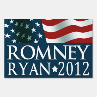 Mitt Romney Paul Ryan in 2012 Sign