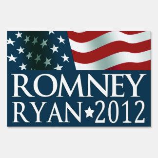 Mitt Romney Paul Ryan in 2012 Sign