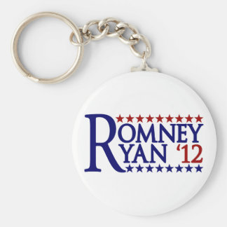 Mitt Romney Paul Ryan Basic Round Button Keychain