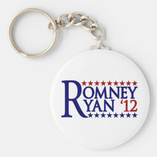 Mitt Romney Paul Ryan Llavero Redondo Tipo Pin