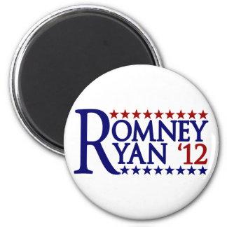 Mitt Romney Paul Ryan 2 Inch Round Magnet