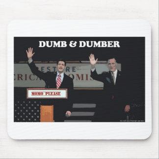 Mitt Romney Paul Ryan mudo y más mudo Alfombrilla De Ratones