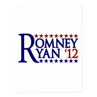 Mitt Romney Paul Ryan Postcard