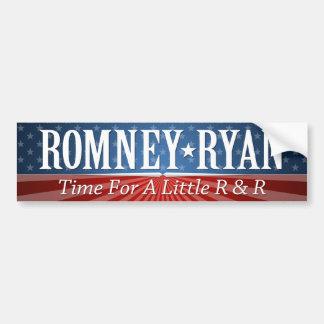Mitt Romney Paul Ryan Slogan Bumper Stickers