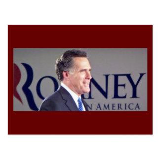 Mitt Romney Photo Postcard