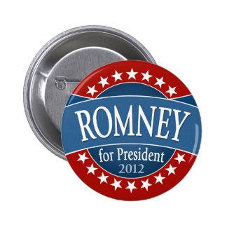 Mitt Romney Pin Redondo 5 Cm