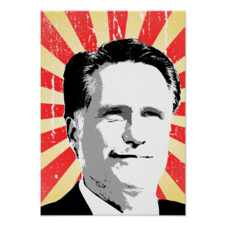 MITT ROMNEY - PNG POSTERS