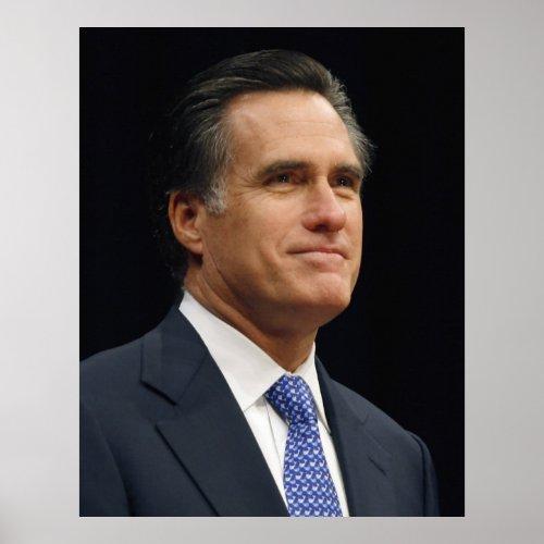 Mitt Romney Poster zazzle_print