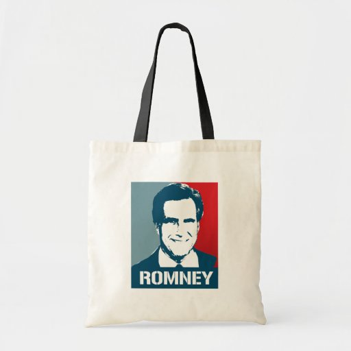 MITT ROMNEY POSTER TOTE BAGS