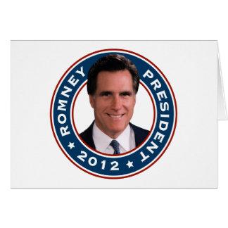 Mitt Romney President 2012 Card