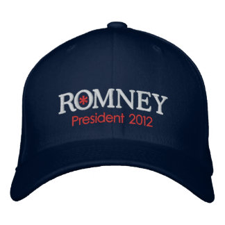 Mitt Romney President 2012 Embroidered Baseball Hat