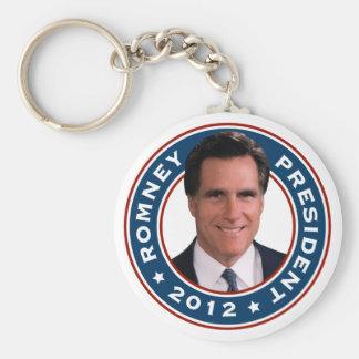 Mitt Romney President 2012 Keychain