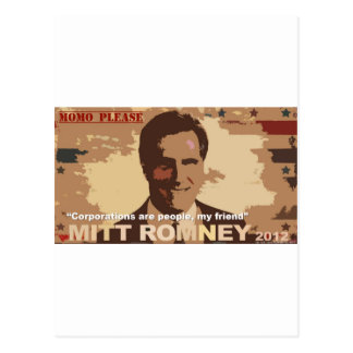 Mitt Romney President 2012 Postcards