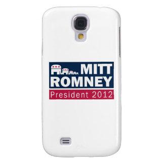 Mitt Romney President 2012 Republican Elephant Samsung Galaxy S4 Cases