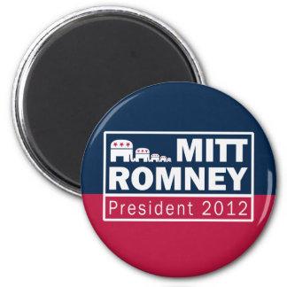 Mitt Romney President 2012 Republican Elephant Fridge Magnet
