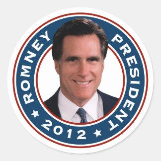 Mitt Romney President 2012 Stickers