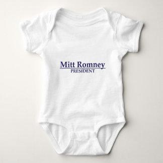 Mitt Romney President Baby Bodysuit
