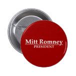 Mitt Romney President Button