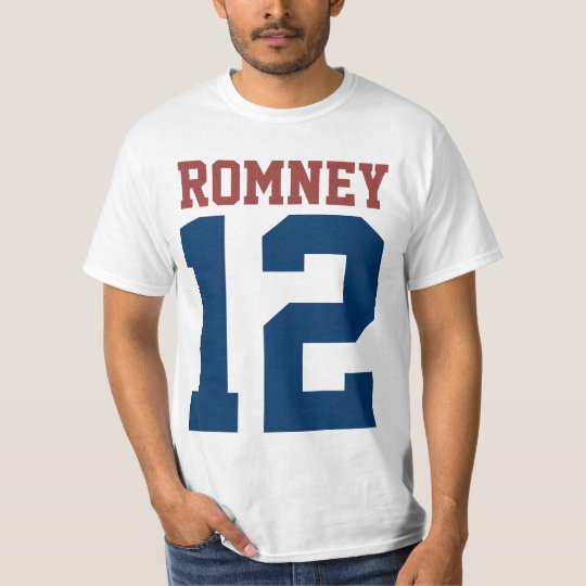 Mitt Romney President in 2012 (front and back) T-Shirt