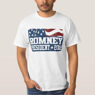 Mitt Romney President in 2012 Tee Shirt