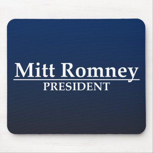 Mitt Romney President Mouse Pad
