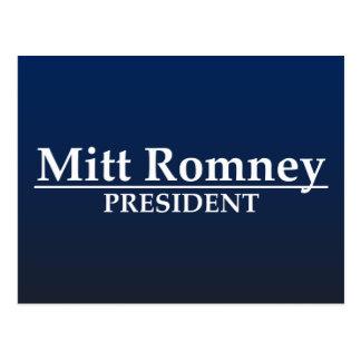 Mitt Romney President Postcard