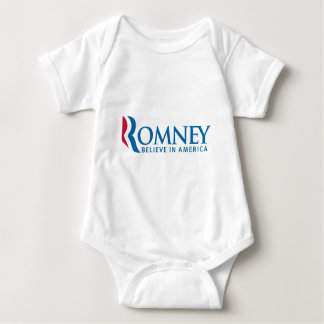 Mitt Romney Presidential Campaign Election Product Baby Bodysuit