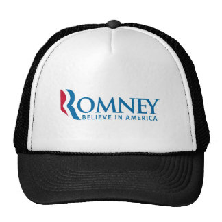 Mitt Romney Presidential Campaign Election Product Trucker Hat