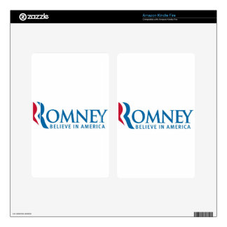 Mitt Romney Presidential Campaign Election Product Kindle Fire Decals