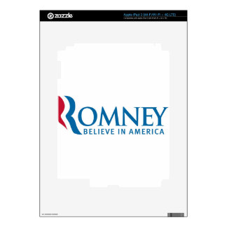Mitt Romney Presidential Campaign Election Product iPad 3 Decals