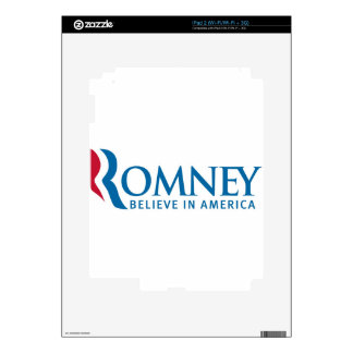 Mitt Romney Presidential Campaign Election Product Skins For iPad 2
