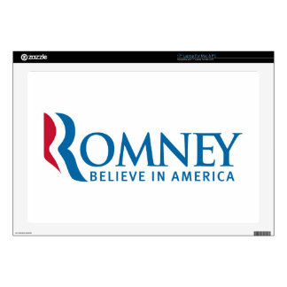 Mitt Romney Presidential Campaign Election Product Skin For Laptop
