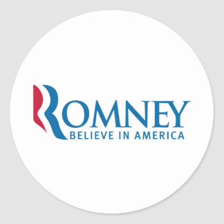 Mitt Romney Presidential Campaign Election Product Sticker