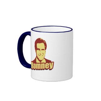 MITT ROMNEY Propaganda Post Ringer Coffee Mug
