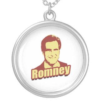 MITT ROMNEY Propaganda Post Round Pendant Necklace