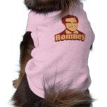 MITT ROMNEY Propaganda Poster Dog T-shirt