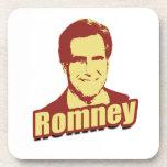 MITT ROMNEY Propaganda Poster Drink Coasters