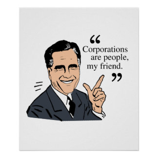 Mitt Romney Quotes color Posters