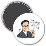 Mitt Romney Quotes color Refrigerator Magnets