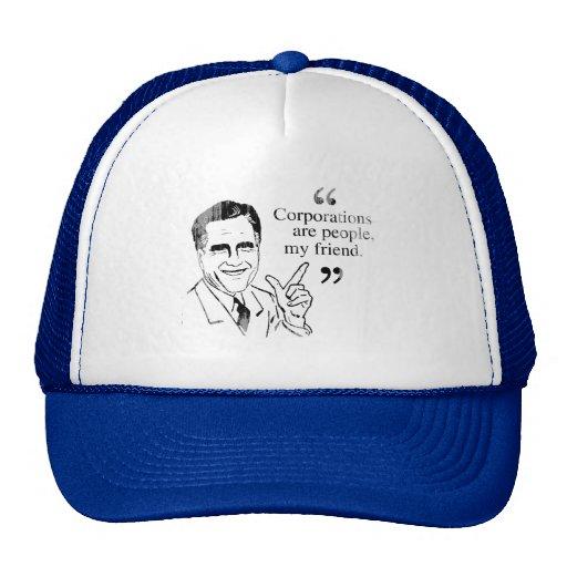 Mitt Romney Quotes.png Trucker Hat